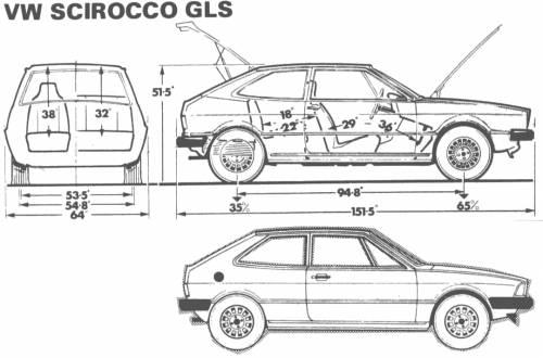 Volkswagen Scirocco GLS