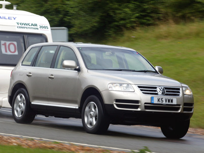 Volkswagen Touareg 2.5 TDi Tiptronic
