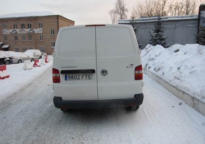 Volkswagen Transporter 2.5 131hp Long AT