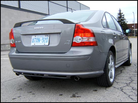 View of Volvo S40 T5 AWD  Photos, video, features and tuning