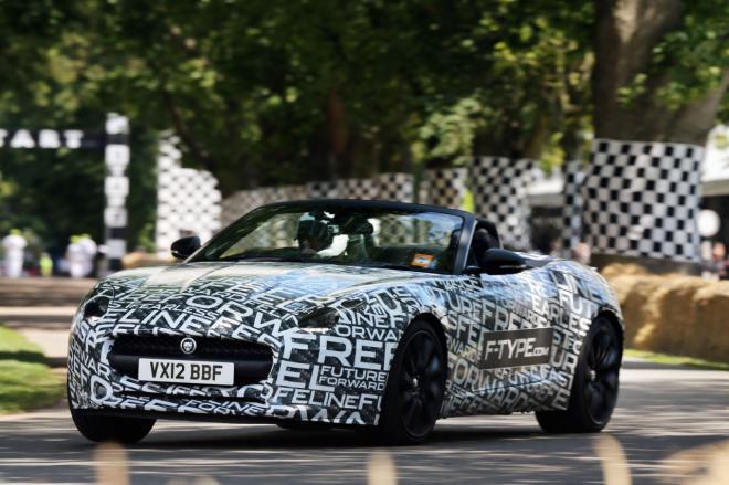 Jaguar F-Type Turbo Prototype