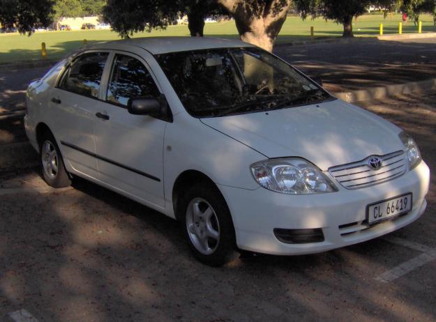 Toyota Corolla 140i GLE