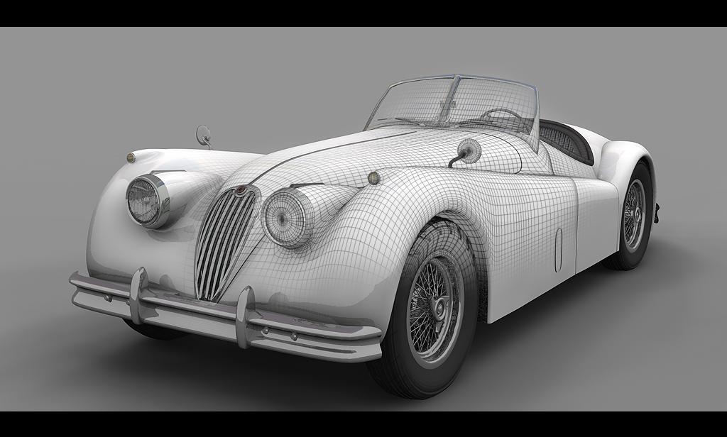 Jaguar XK 140 Roadster