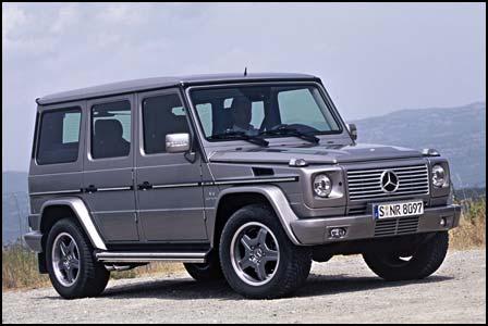 Mercedes-Benz G 55 AMG Kompressor