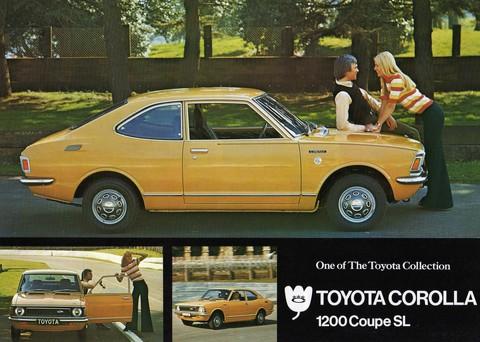 Toyota Corolla 1200 Coupe